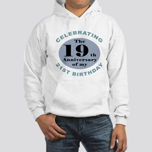 Funny 40th Birthday Hooded Sweatshirt