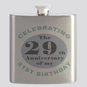 Funny 50th Birthday Flask
