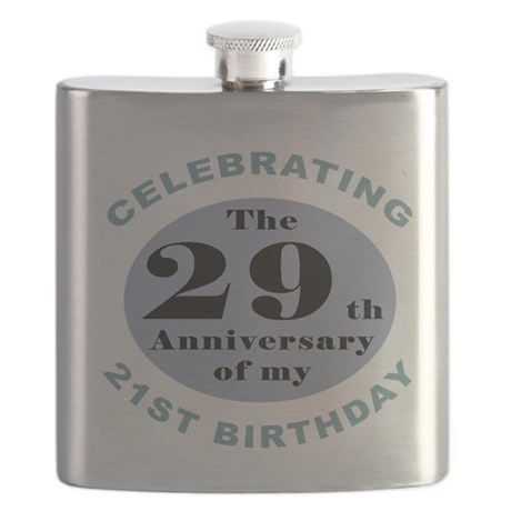 Funny 50th Birthday Flask