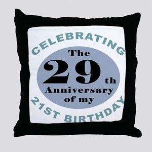Funny 50th Birthday Throw Pillow