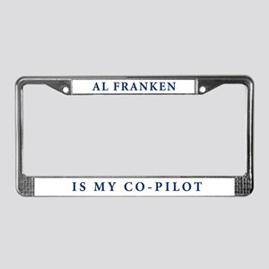 License Plate Frame: Al Franken