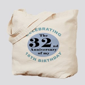 Funny 50th Birthday Tote Bag