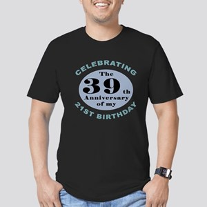 Funny 60th Birthday Men's Fitted T-Shirt (dark)