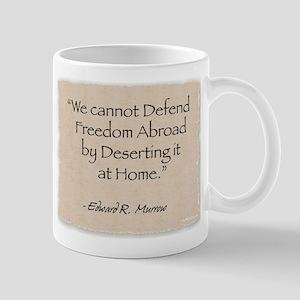 Mug: Defend-Murrow