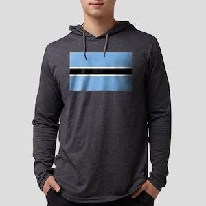 Flag of Botswana Long Sleeve T-Shirt