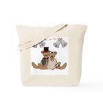 Teddy Bear Wedding Tote Bag