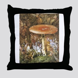 The Intruders Throw Pillow