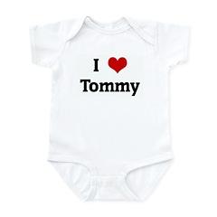 I Love Tommy Infant Bodysuit