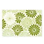 Art Deco Chrysanthemum Postcards (Package of 8)