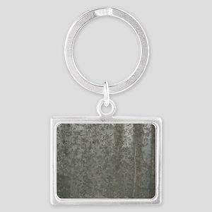 Corrugated Sheet Metal Landscape Keychain