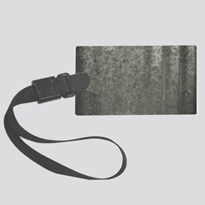 Corrugated Sheet Metal Large Luggage Tag