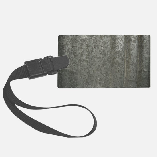 Corrugated Sheet Metal Luggage Tag