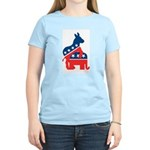 Democrats on Top Women's Light T-Shirt
