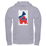 Democrats on Top Hooded Sweatshirt