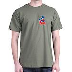 Democrats on Top Dark T-Shirt