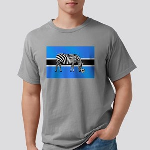Botswana Football Flag T-Shirt