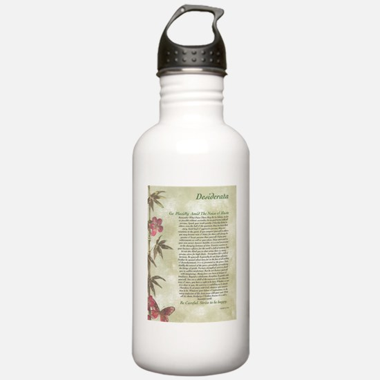 DESIDERATA  Water Bottle