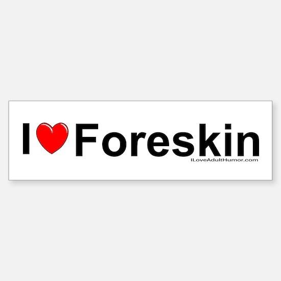 Foreskin Sticker (Bumper)