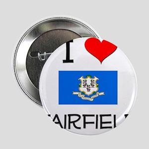 "I Love Fairfield Connecticut 2.25"" Button"