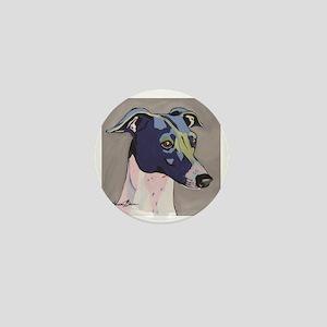 Italian Greyhound - Louie Mini Button