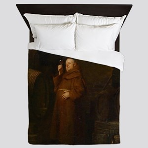 Drunk As A Monk Queen Duvet
