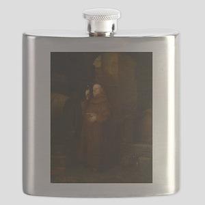 Drunk As A Monk Flask