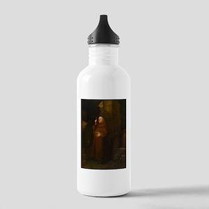Drunk As A Monk Water Bottle
