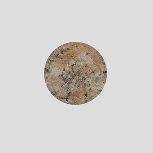 Pink Granite Mini Button