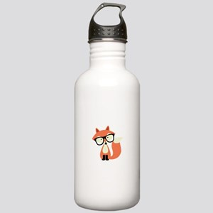 Hipster Red Fox Stainless Water Bottle 1.0L