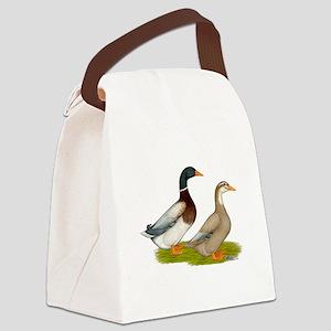 Saxony Ducks Canvas Lunch Bag