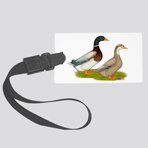 Saxony Ducks Luggage Tag