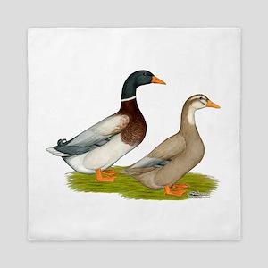 Saxony Ducks Queen Duvet
