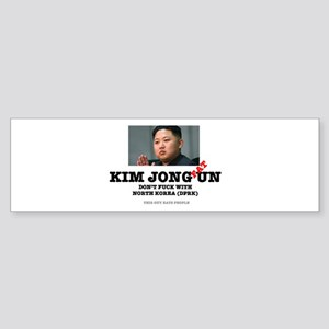 KIM JOHN FAT UN - DPRK Bumper Sticker