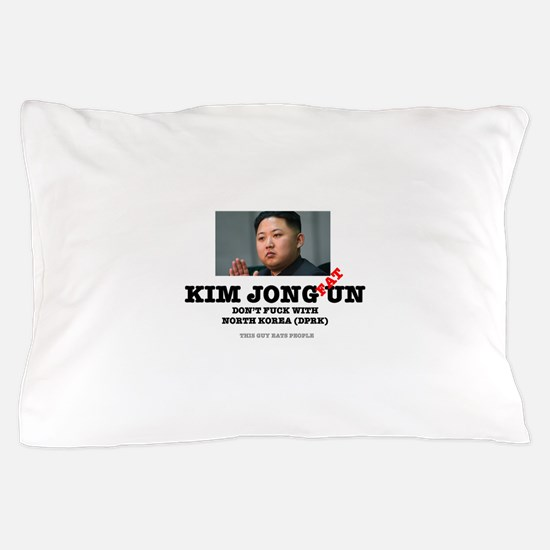 KIM JOHN FAT UN - DPRK Pillow Case