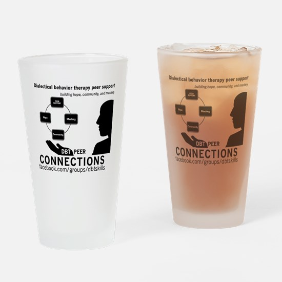 DBT Peer Connections Drinking Glass