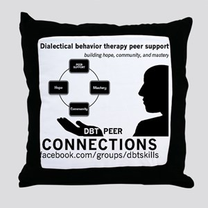 DBT Peer Connections Throw Pillow