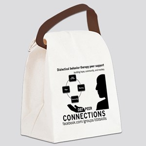 DBT Peer Connections Canvas Lunch Bag