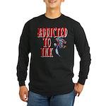 Addicted to Ink Long Sleeve Dark T-Shirt