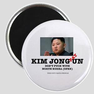 KIM JOHN FAT UN - DPRK Magnets