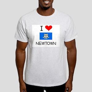 I Love Newtown Connecticut T-Shirt