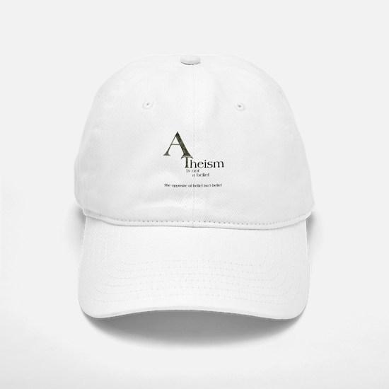 Atheistic Atheism Baseball Baseball Cap