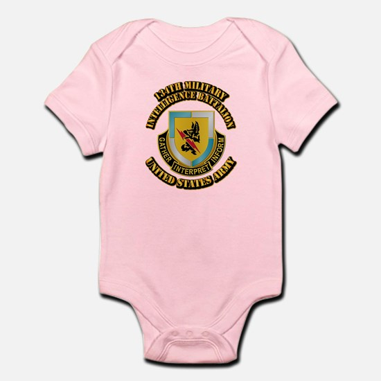 DUI - 134th Military Intelligence Bn w Text Infant