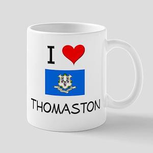 I Love Thomaston Connecticut Mugs