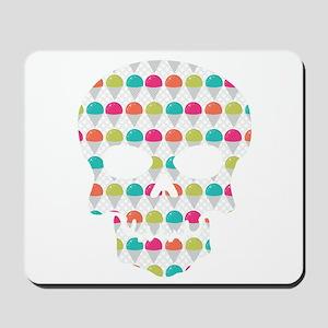 Skull Colorful Snowcones Mousepad
