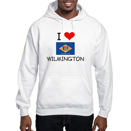 I Love WILMINGTON Delaware Hoodie