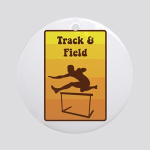Track and Field Ornament (Round)