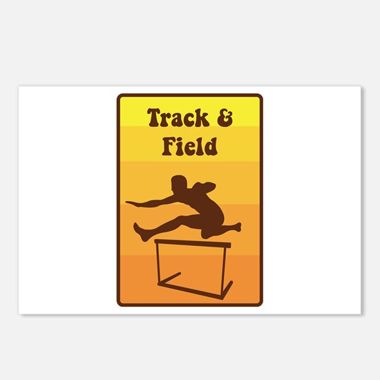 Track and Field Postcards (Package of 8)