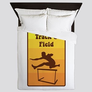 Track and Field Queen Duvet
