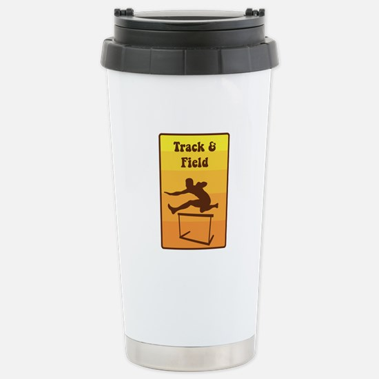 Track and Field Travel Mug