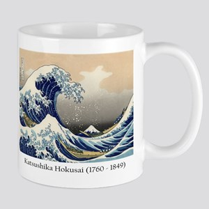 Great wave off Kanagawa with Mt. Fuji Mugs